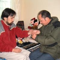 チベット医ダワ先生による脈診